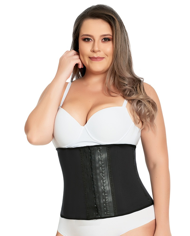 Ann Michell 3 Hook Sport Girdle Long Torso Latex Waist Trainer