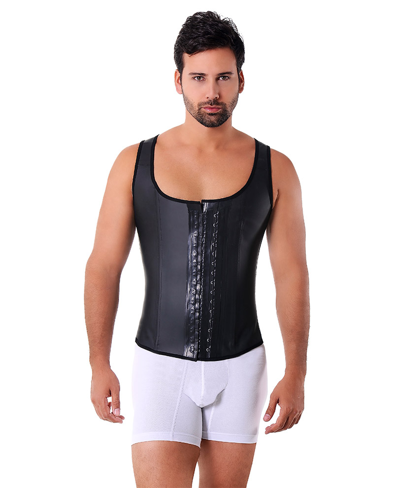 2033 Vest Latex For Men Black Annmichell Store